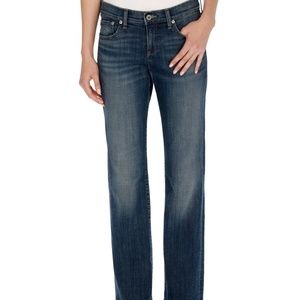 Lucky Brand Jean Easy Rider Straight bootcut 14/32